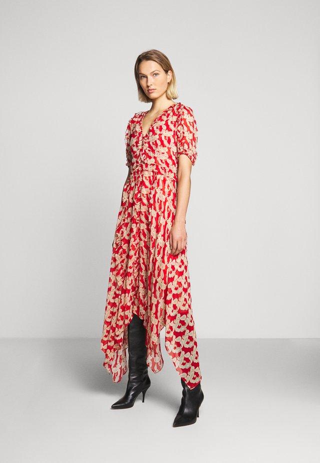 ROBE - Maxi šaty - red
