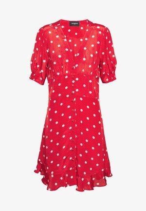 ROBE - Shirt dress - red