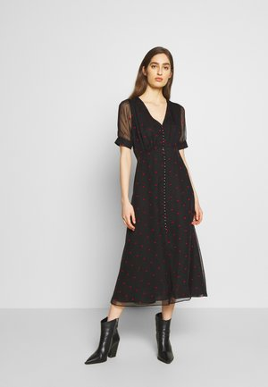 ROBE - Shirt dress - black