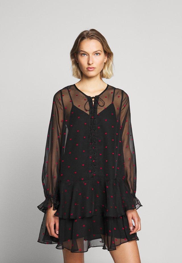 ROBE - Denní šaty - black