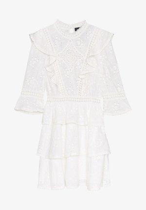 Korte jurk - offwhite