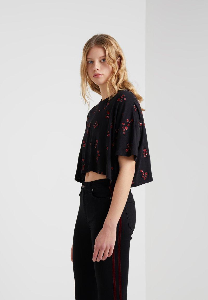The Kooples - Camiseta estampada - black