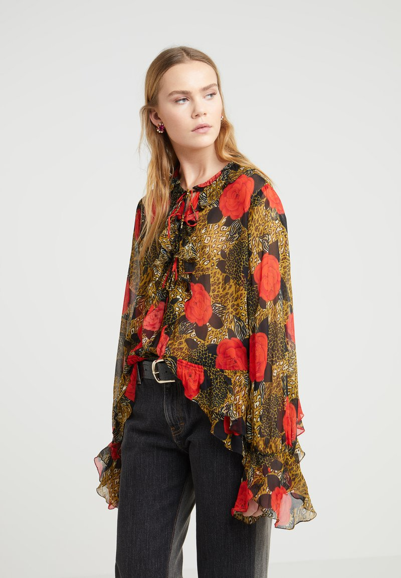 The Kooples - Bluse - red/gold