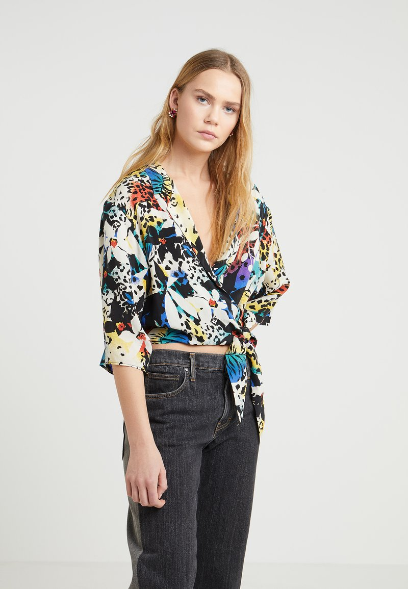 The Kooples - Bluse - black/yellow