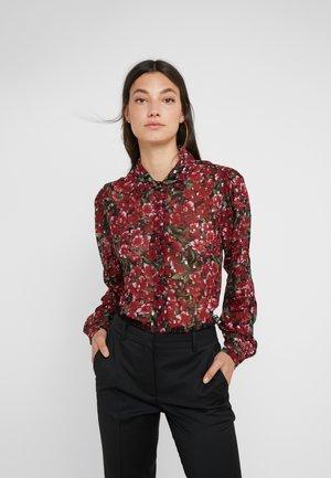Skjorte - burgundy