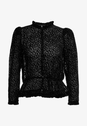 CHEMISE - Button-down blouse - black