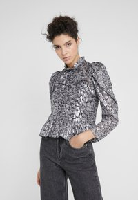 The Kooples - CHEMISE - Blouse - silver - 0