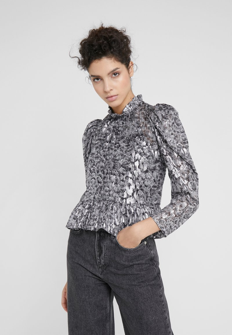 The Kooples - CHEMISE - Blouse - silver