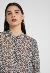 The Kooples - CHEMISE - Blouse - black/off-white - 4