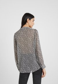The Kooples - CHEMISE - Blouse - black/off-white - 2
