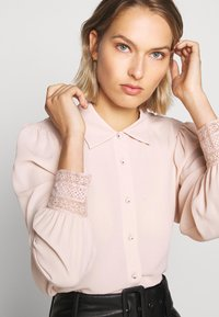The Kooples - CHEMISE - Button-down blouse - nude - 4