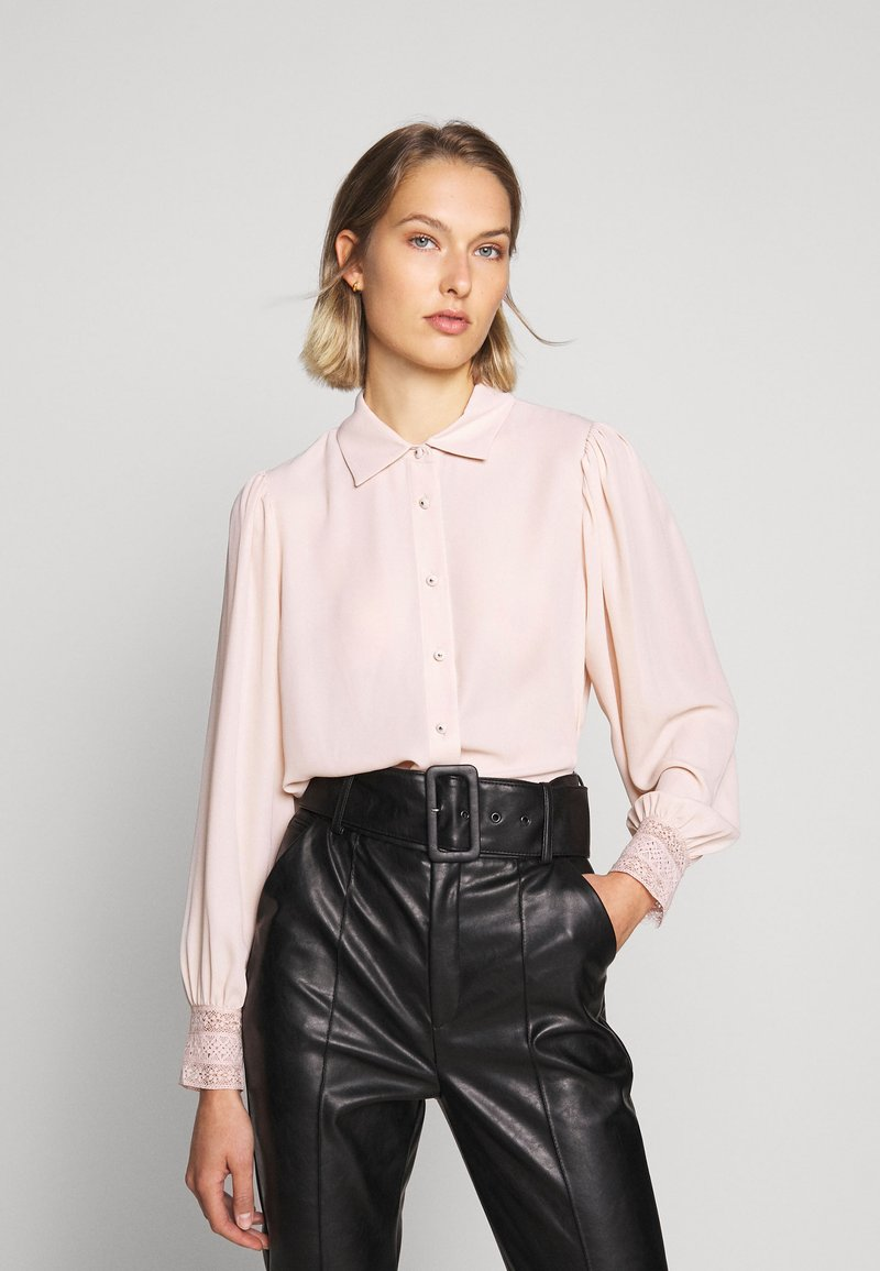 The Kooples - CHEMISE - Button-down blouse - nude