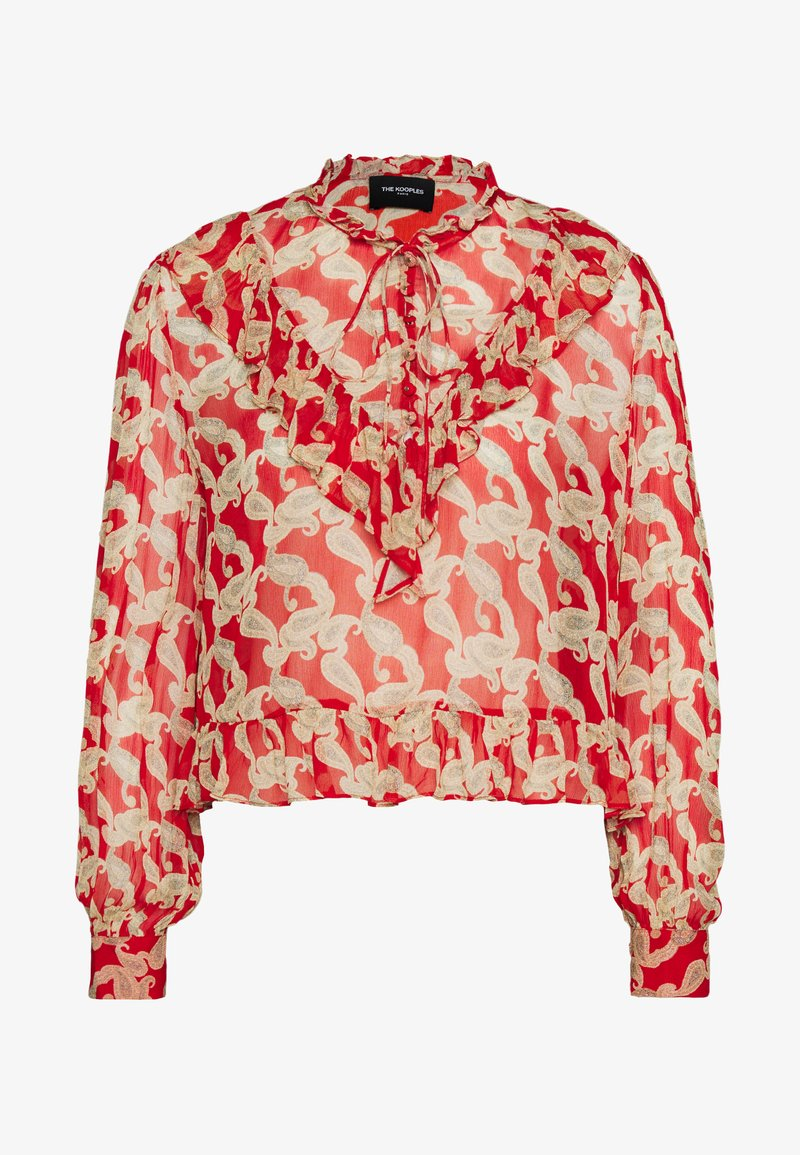 The Kooples - Blouse - red
