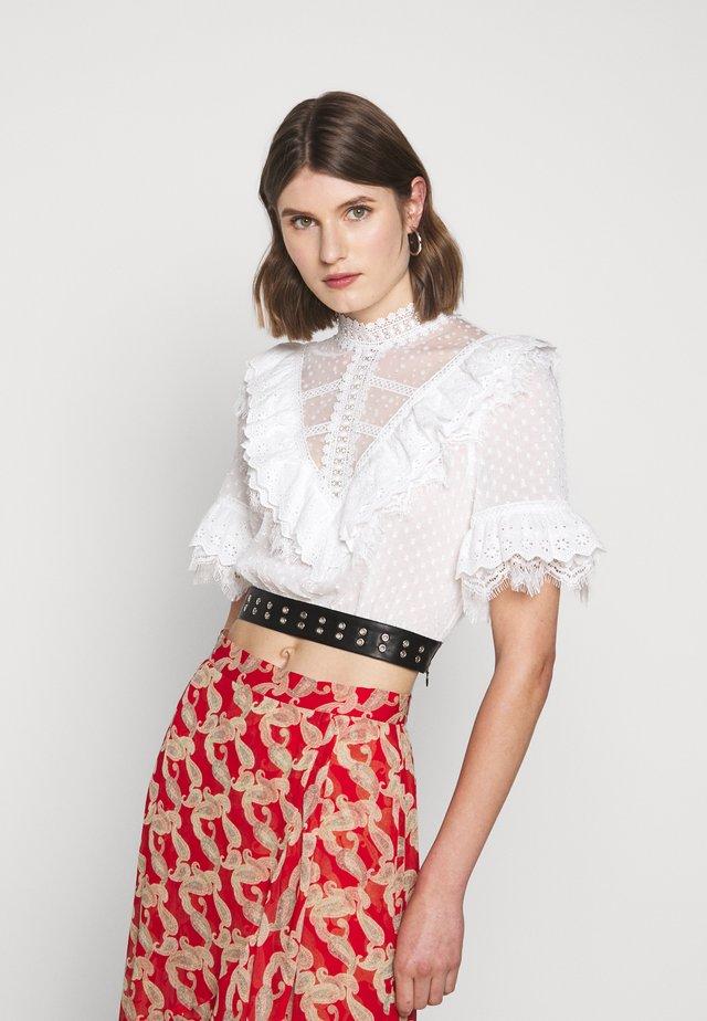 Bluse - white