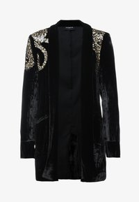The Kooples - KIMONO - Blazer - black/gold - 4