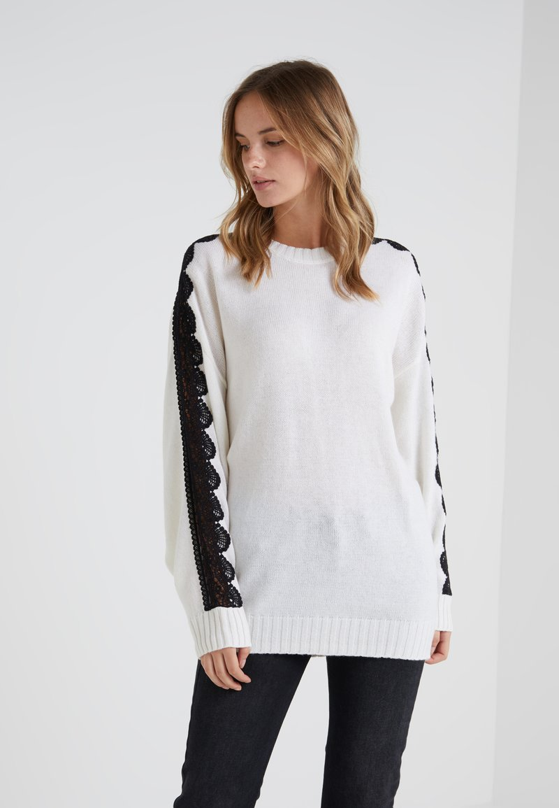 The Kooples - Strickpullover - offwhite