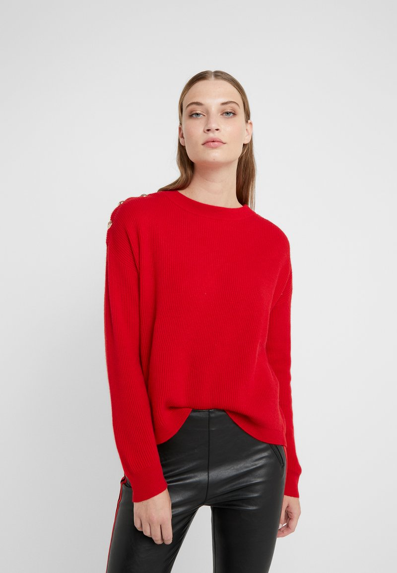 The Kooples - PULL - Strickpullover - red