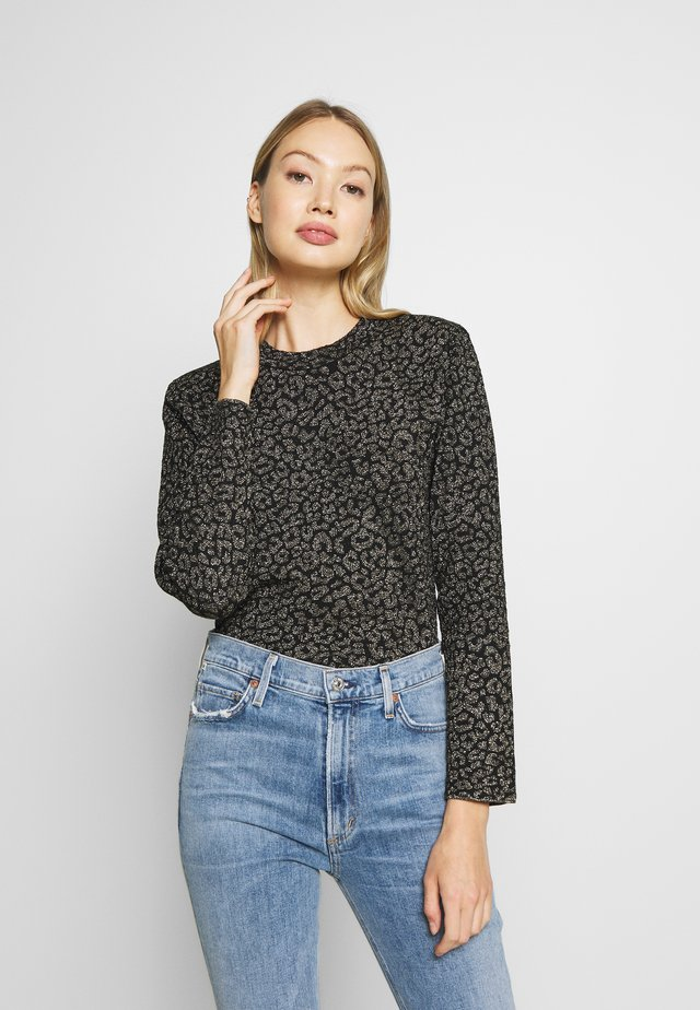 JUMPER - Jumper - black/gold