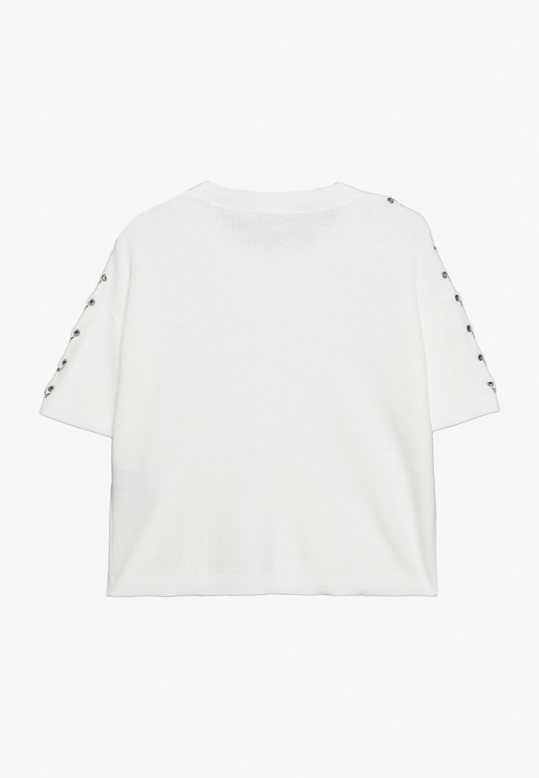 The Kooples T-shirt z nadrukiem - offwhite