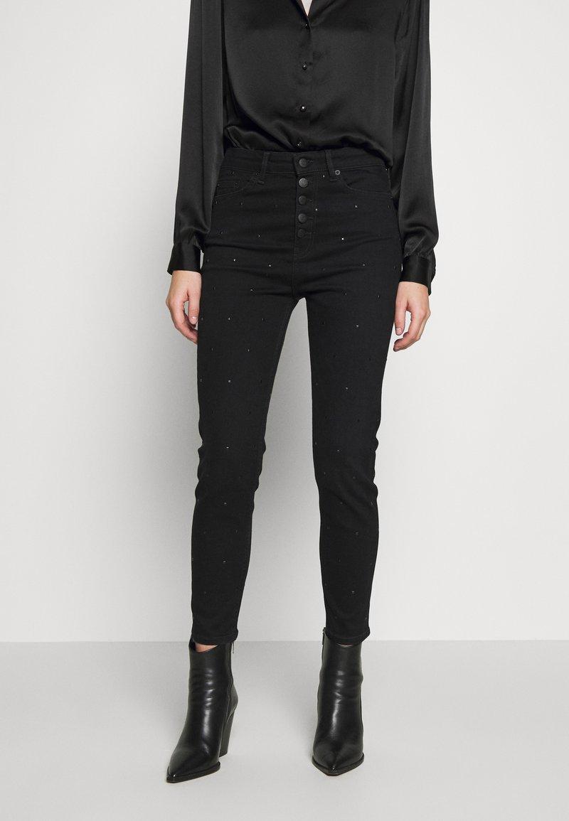 The Kooples - Slim fit jeans - black