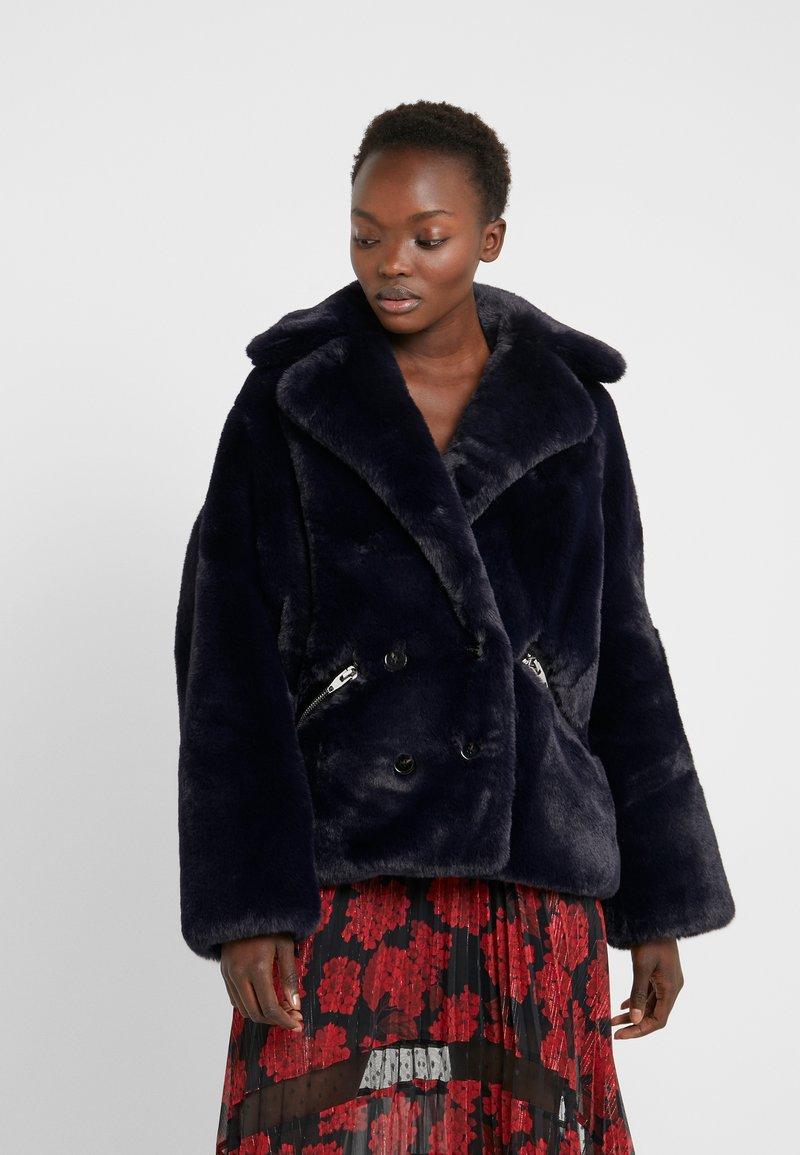 The Kooples - FOURRURE - Winter jacket - navy