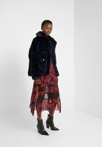 The Kooples - FOURRURE - Giacca invernale - navy - 1