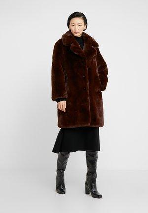 FOURRURE - Cappotto classico - brown