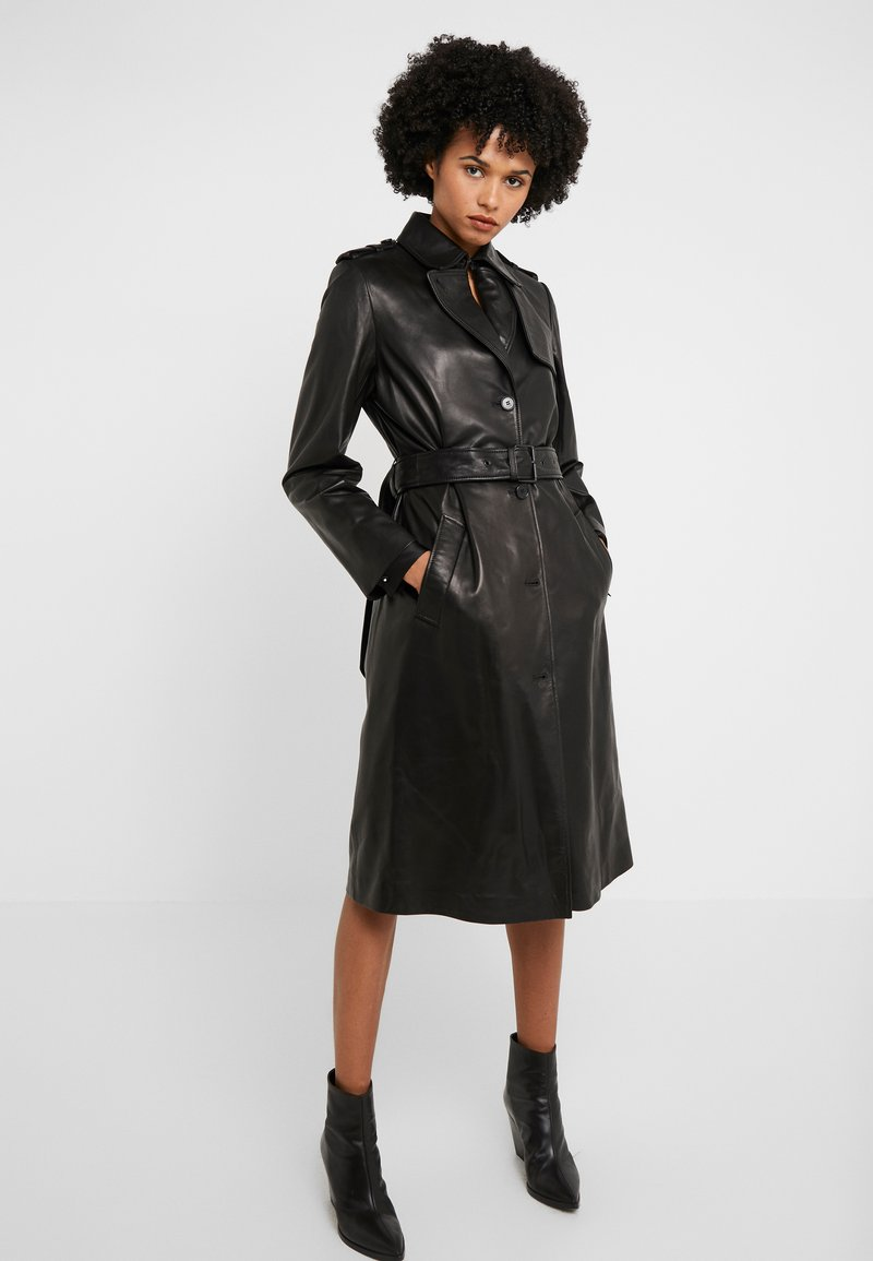The Kooples - TRENCH - Trenčkot - black