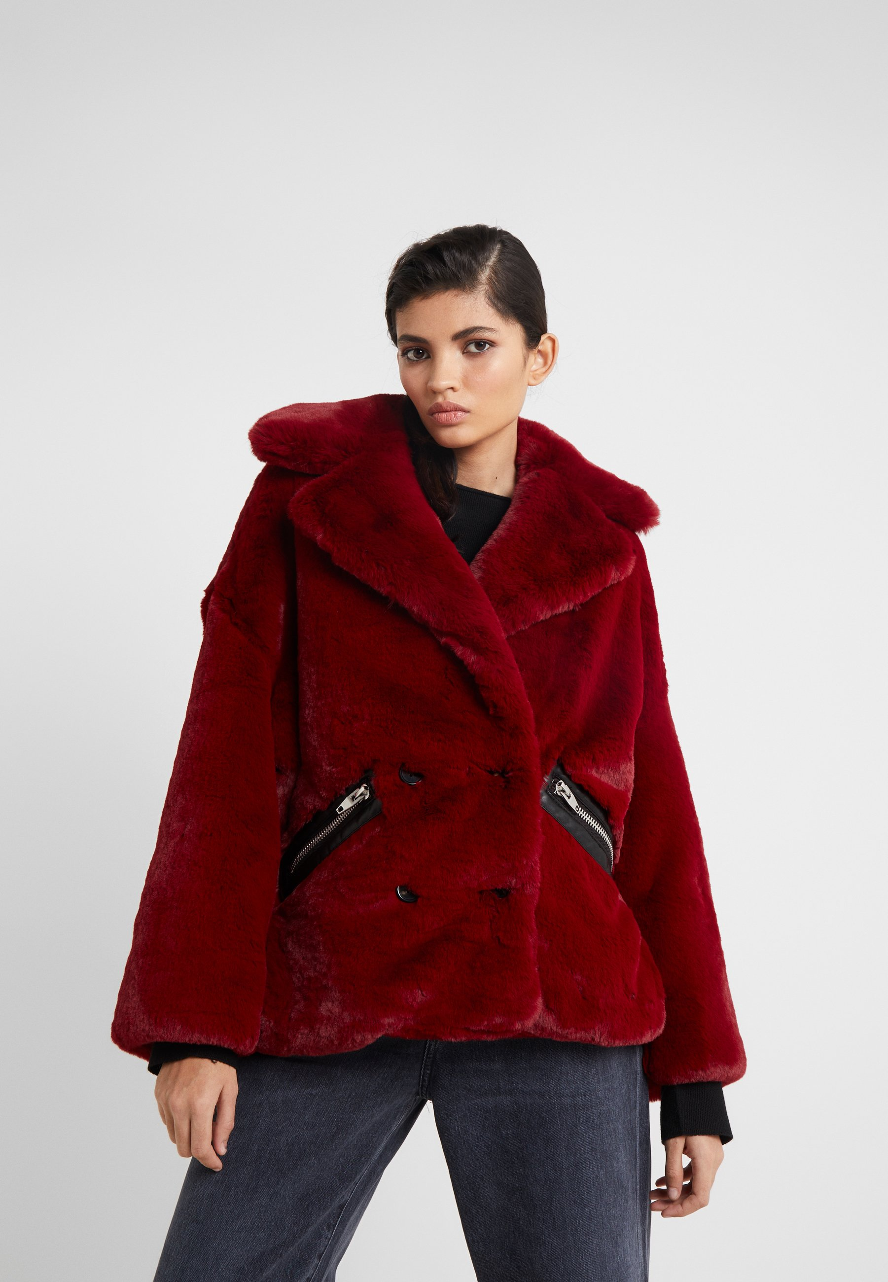 The Kooples Lett jakke - red