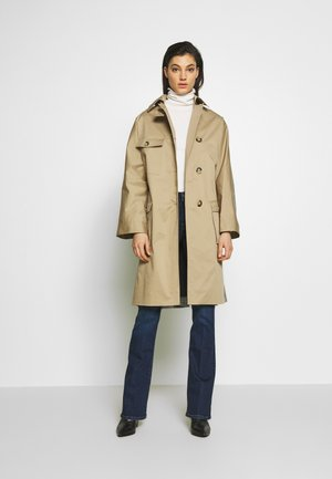 Trenchcoat - beige/grey