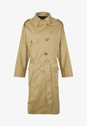 Trenchcoat - beige/grey