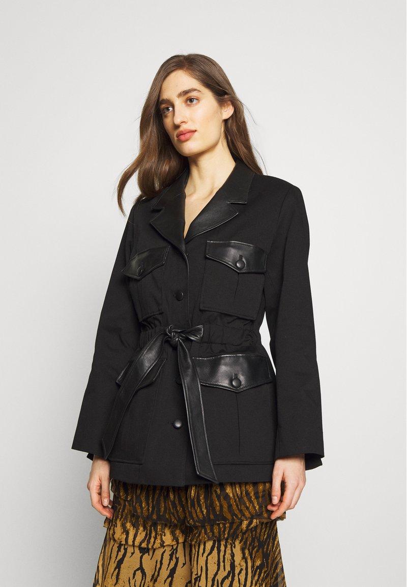 The Kooples - Krátký kabát - black