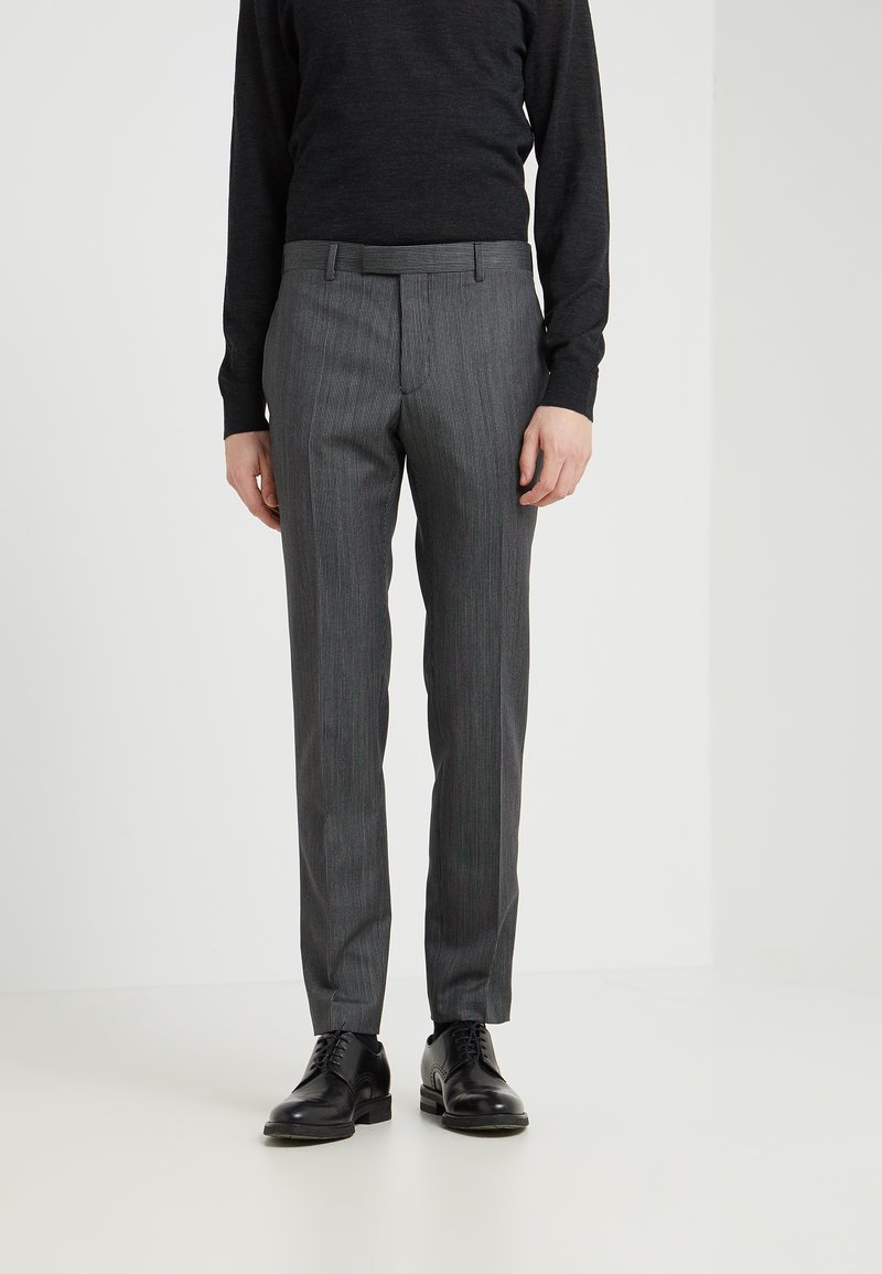 The Kooples - CLEAR TROUSER - Suit trousers - black