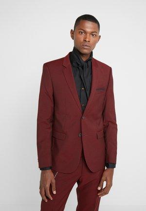 COSTUME - Suit jacket - burgundy
