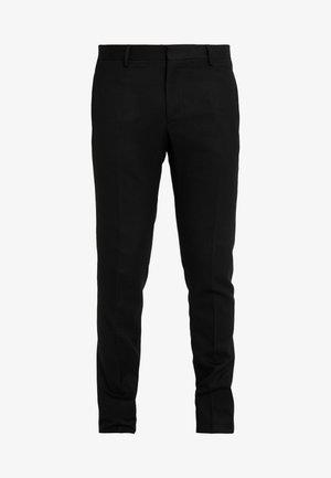 PANTALON - Pantalon de costume - black