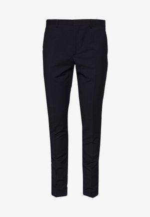 PANTALON - Suit trousers - navy