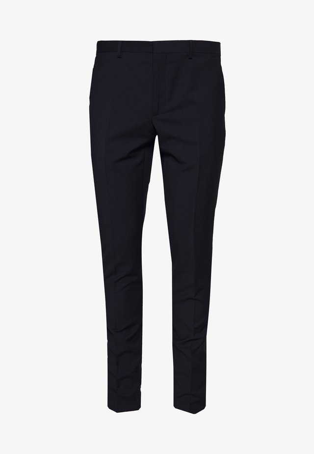 PANTALON - Suit trousers - navy