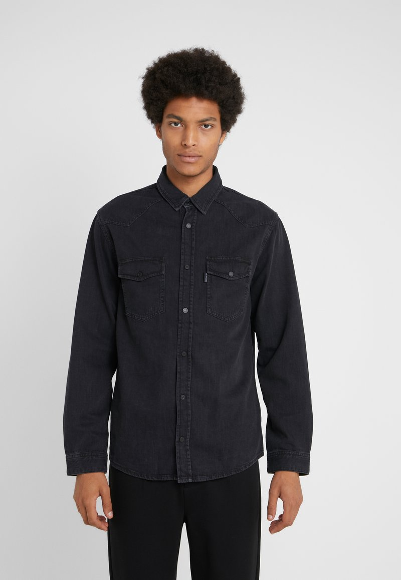 The Kooples - CHEMISE - Camisa - black washed