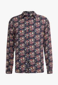 The Kooples - CHEMISE - Chemise - black/red/yellow - 4