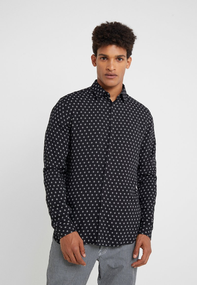 The Kooples - CHEMISE - Shirt - black white