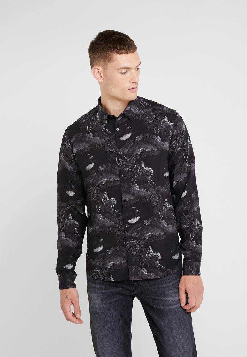 The Kooples - CHEMISE - Shirt - black/ecru