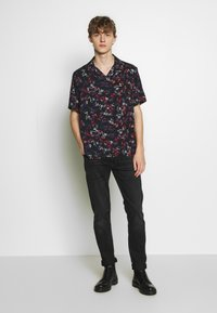 The Kooples - LEAVES CHEMISE - Overhemd - black/red - 1