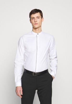 MAO COLLAR CHEMISE - Shirt - white