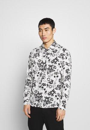 MODERNIST SYMBOLS CHEMISE - Skjorter - white/black