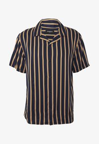 The Kooples - CHEMISE STRIPED - Skjorter - dark navy/camel - 4