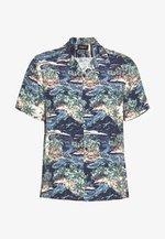 CHEMISE TROPICAL PRINT - Shirt - navy/blue