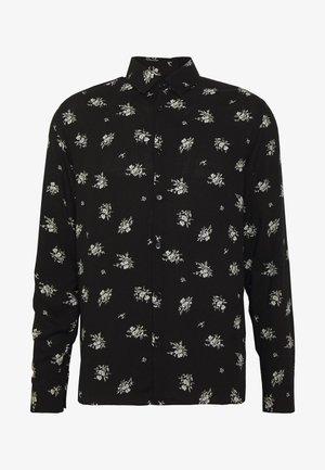 CHEMISE FLORAL - Overhemd - black
