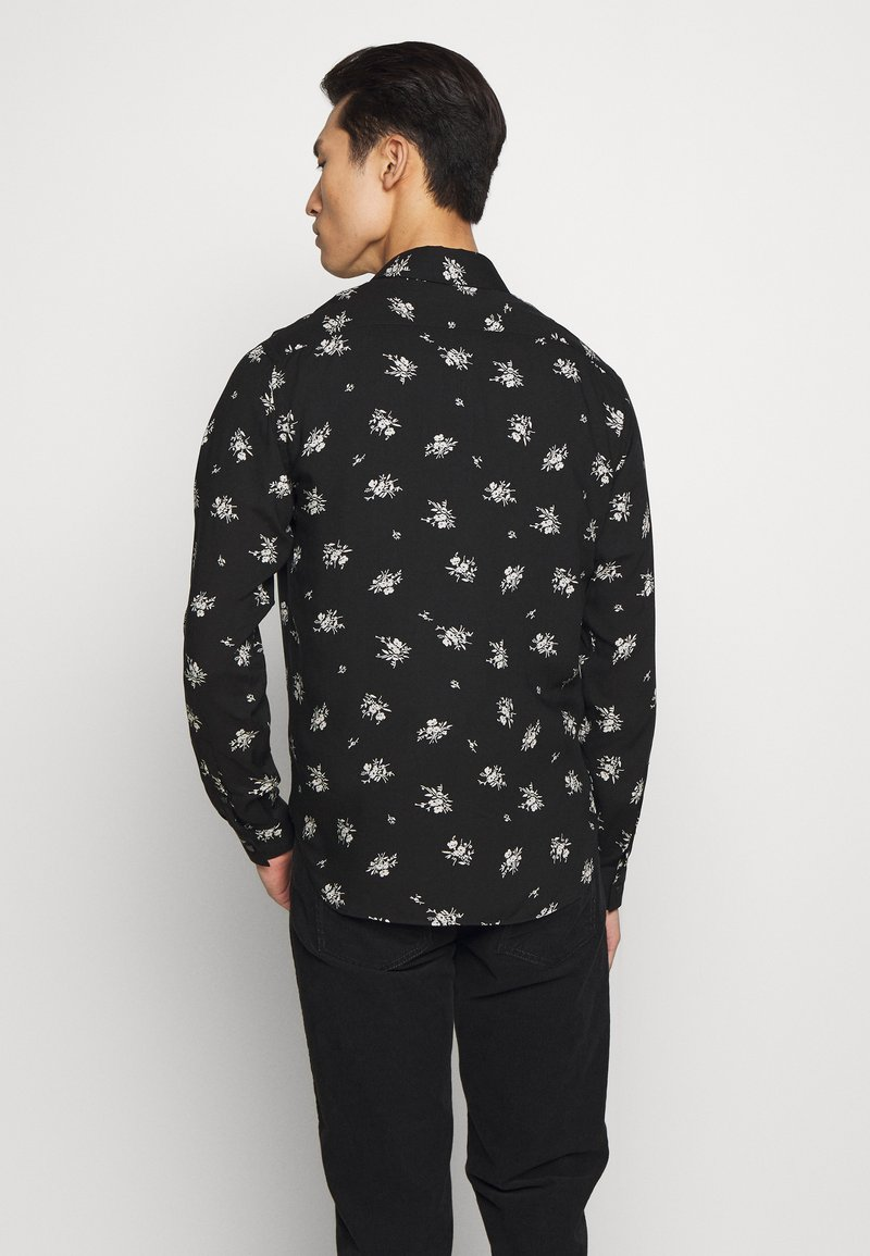 The Kooples CHEMISE FLORAL - Skjorte - black