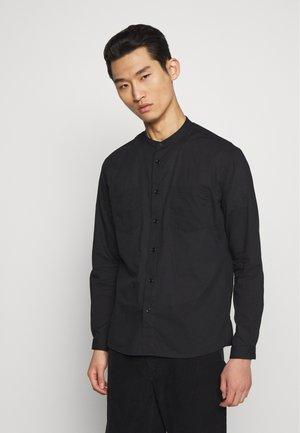 CHEMISE MAO COLLAR - Overhemd - black
