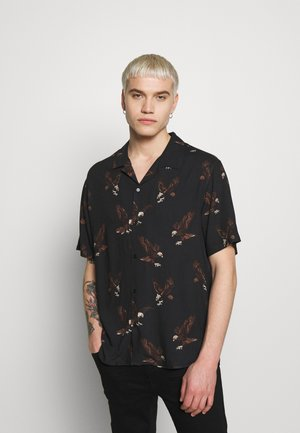 CHEMISE EAGLE PRINT - Skjorter - black